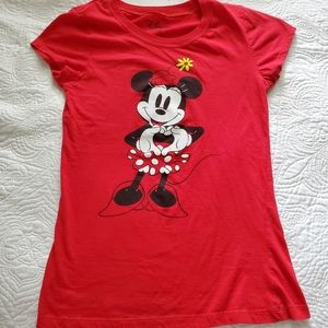 Minnie Mouse girls tshirt